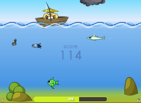 Игра Super-Fishing онлайн